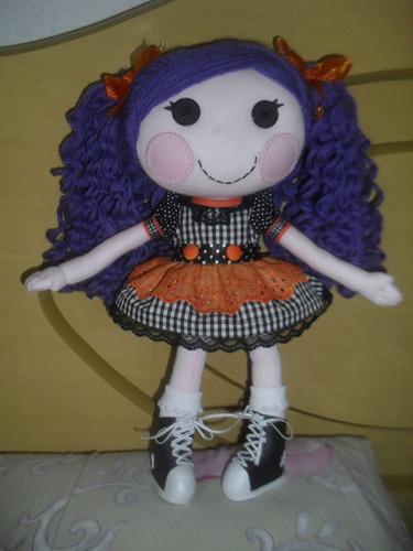 boneca de pano artesanal lalaloopsy