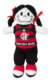 54d2925d040fbe Boneca De Pano Baby Do Flamengo - Torcida Baby 238b