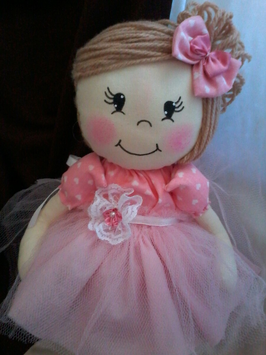 Artesanato Brasil Boneca De Pano ~ Boneca De Pano Bailarina Para Decoraç u00e3o R$ 57,90 em Mercado Livre