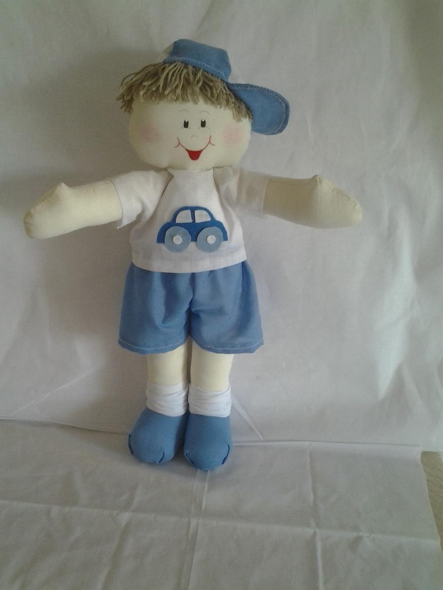 Boneca De Pano Decoração Quarto Bebe Menino - R$ 69,00 em Mercado Livre
