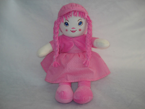 boneca de pano musical camponesa