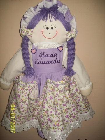 boneca de pano  porta fralda 57 cm, maternidade, decoração