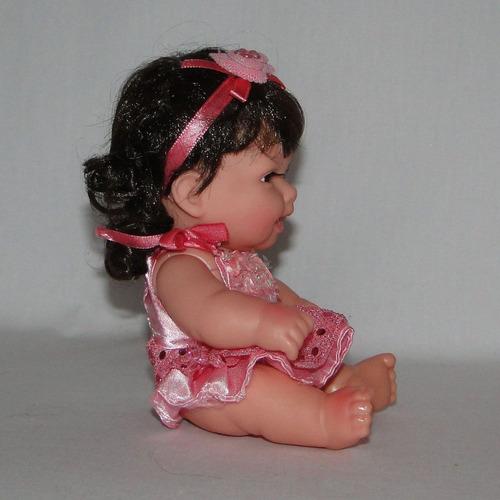 boneca decorativa - rosa