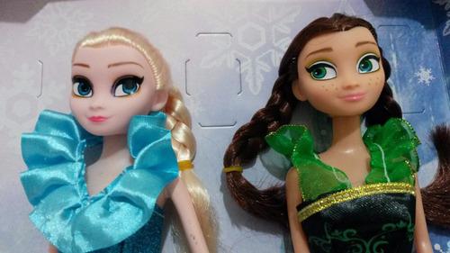 boneca do filme frozen disney anna e elsa