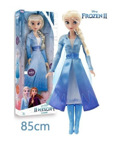 boneca elsa articulada grande 85 cms frozen 2 baby brink