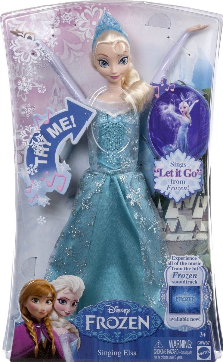 3af31494c8 boneca elsa frozen disney musical - mattel. Carregando zoom.