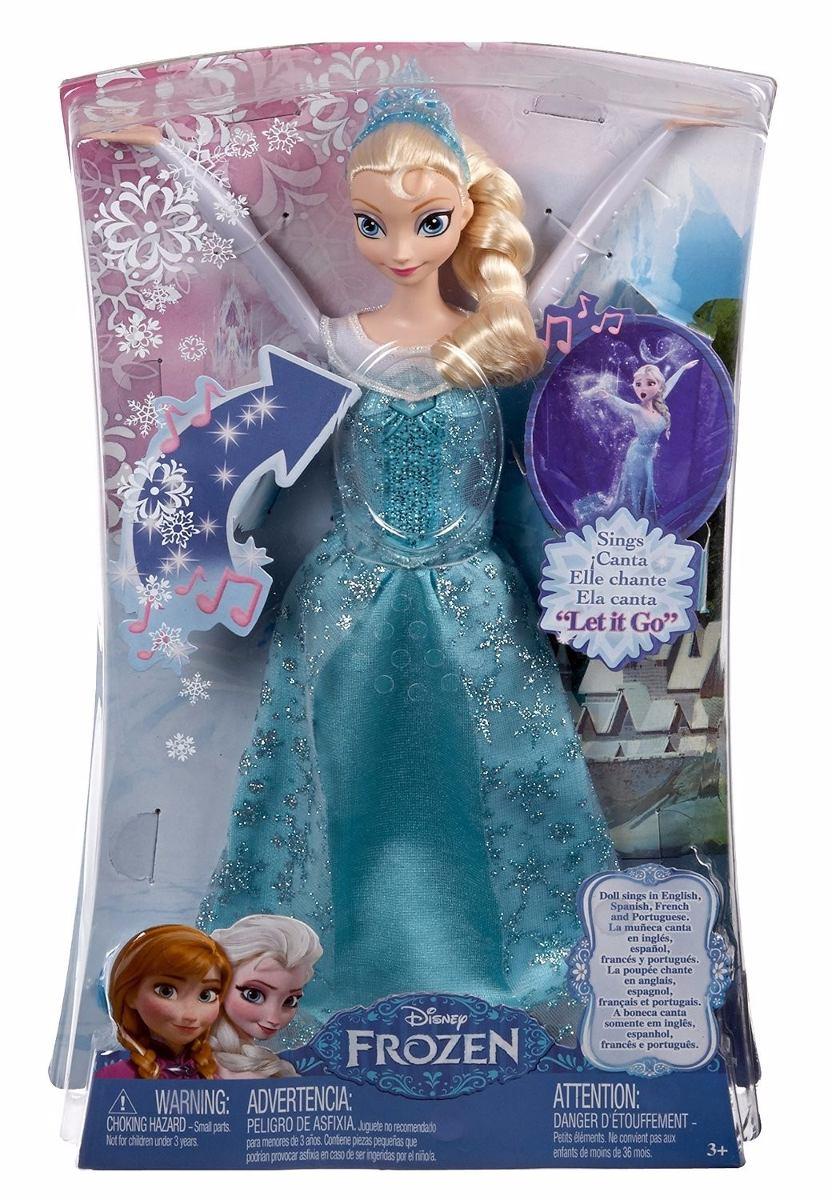 626095acd4 boneca elsa frozen musical mattel. Carregando zoom.