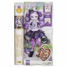 boneca ever after high rebel - kitty cheshire - mattel