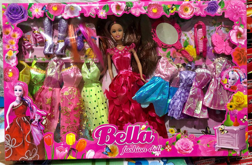 boneca fashion acessorios