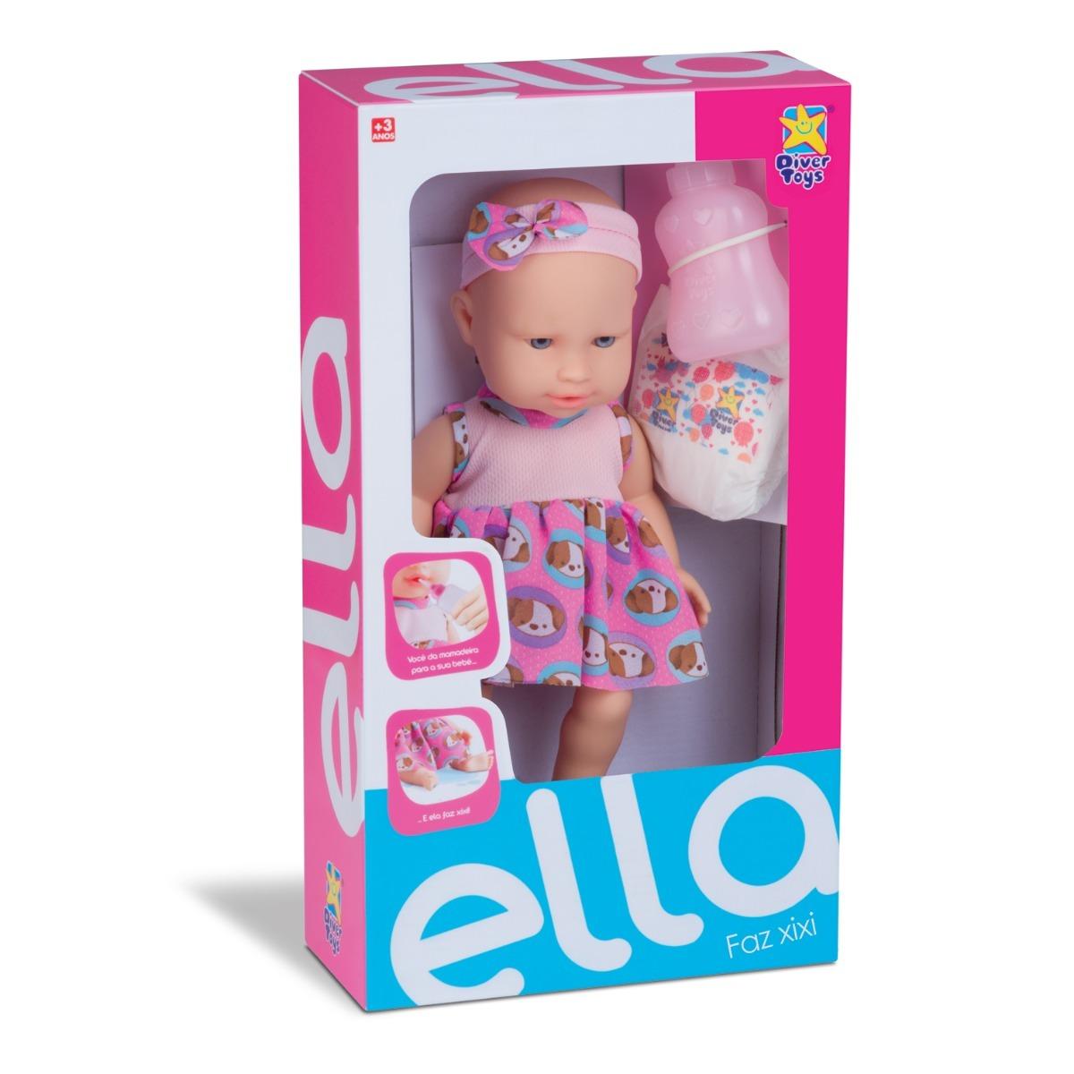 cdadbb1bcb boneca faz xixi com bico mamadeira fralda brinquedo meninap. Carregando  zoom.