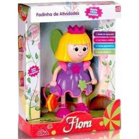 Boneca Flora Fadinha De Atividades