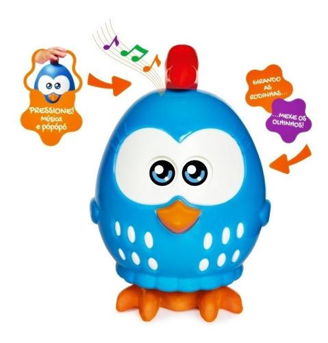 boneca galinha pintadinha mini musical bebe