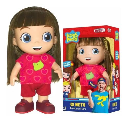 boneca gi luccas neto