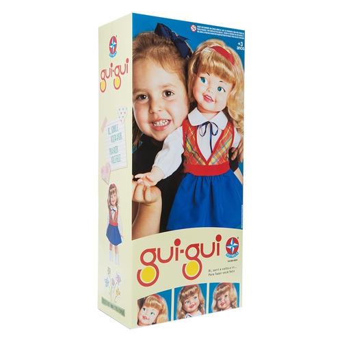 boneca guigui estrela lacrada na caixa nova