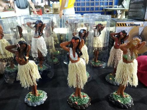boneca havaiana hula painel carro kombi  frete grátis ula