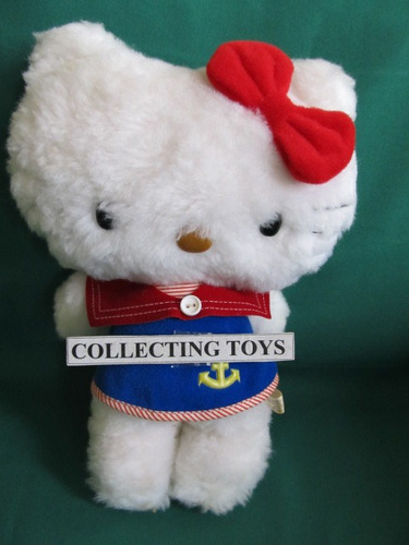 boneca hello kitty  original anos 80 - estrela - linda!