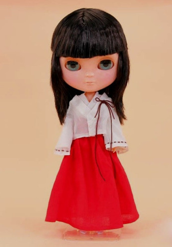 boneca icy - kikyou inuyasha * 4 cores de olhos * blythe