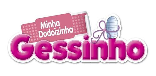 boneca infantil para criança dodoizinha gessinho sid nyl
