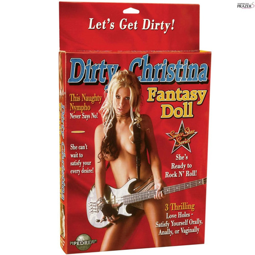 boneca inflável dirty christina fantasy doll
