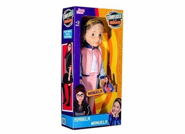 Boneca Isabela Ou Manuela Cumplices De Um Resgate - R  99,90 em ... dc5e1b863c