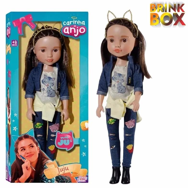 Boneca Juju Carinha De Anjo - R  59,49 em Mercado Livre 0e04c4b1fe