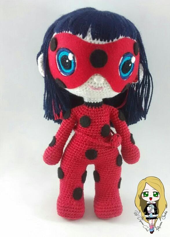 Carlotta the Amigurumi Ladybug   PDF Crochet Pattern – AiraliDesign   816x587