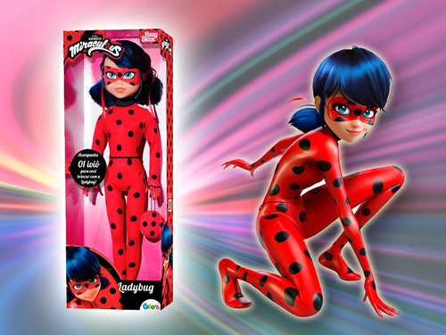boneca ladybug - uliví
