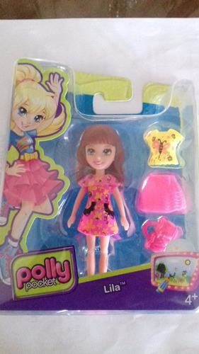 boneca lila da colecao polly pocket dwc23 bonellihq l18
