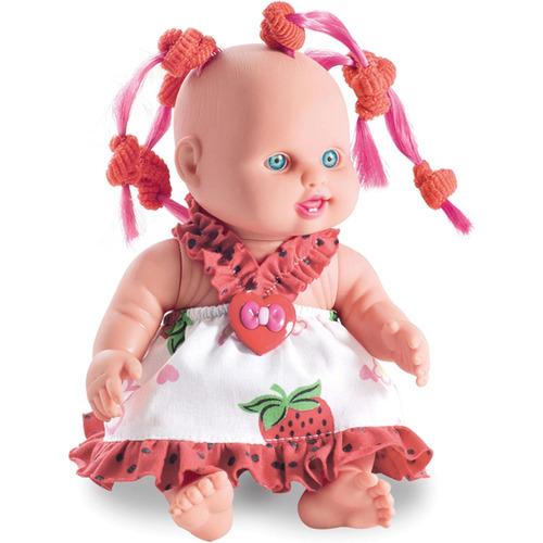 boneca lindinha color c/chuquinhas milk 2*unidade