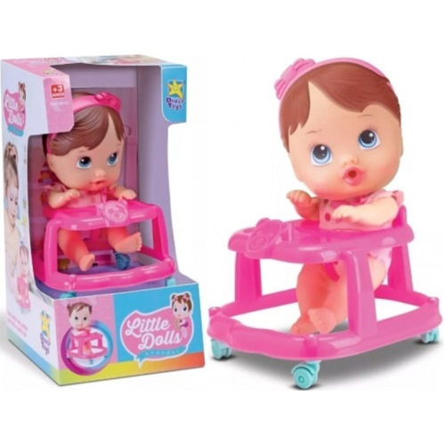boneca little dolls andador