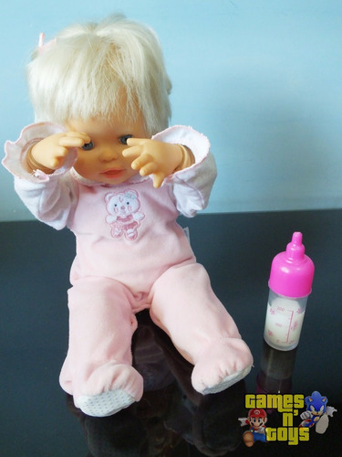 boneca little mommy abraços e carinhos mattel