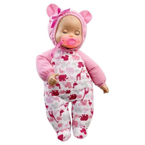boneca little mommy hora do soninho - x8147 - mattel