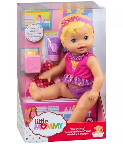 boneca little mommy momentos do bebê hora de trocar fralda