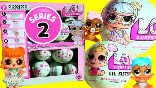 boneca lol l.o.l. surprise doll serie 2, unidade sortida