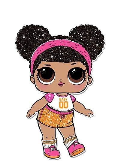 Boneca Lol Surpresa Serie Glitter Hoops Mvp Aberta Cole o
