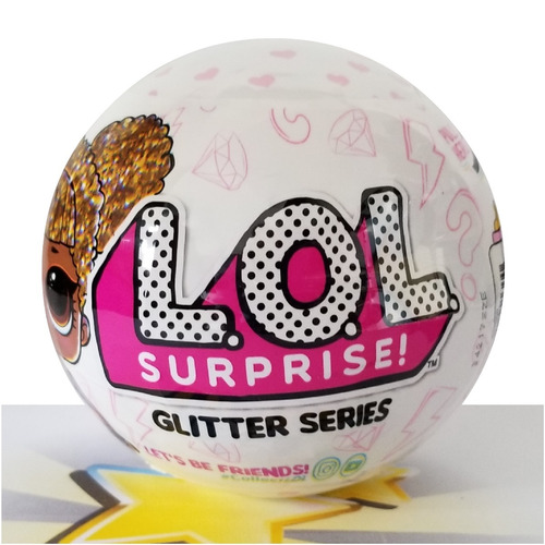 boneca lol surprise glitter series 100% original mga rara