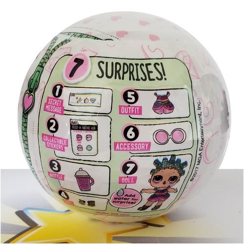 boneca lol surprise glitter series 100% original mga rara