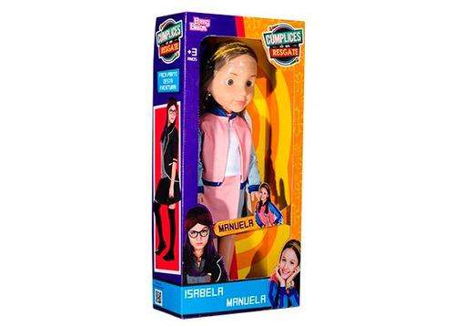 boneca manuela cumplices de um resgate - babybrink original