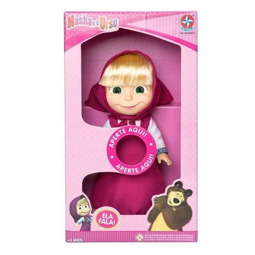 boneca masha e o urso com sons estrela