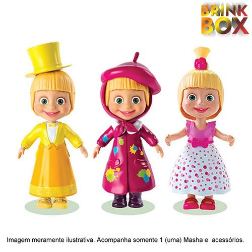 boneca masha fashion e acessórios sunny