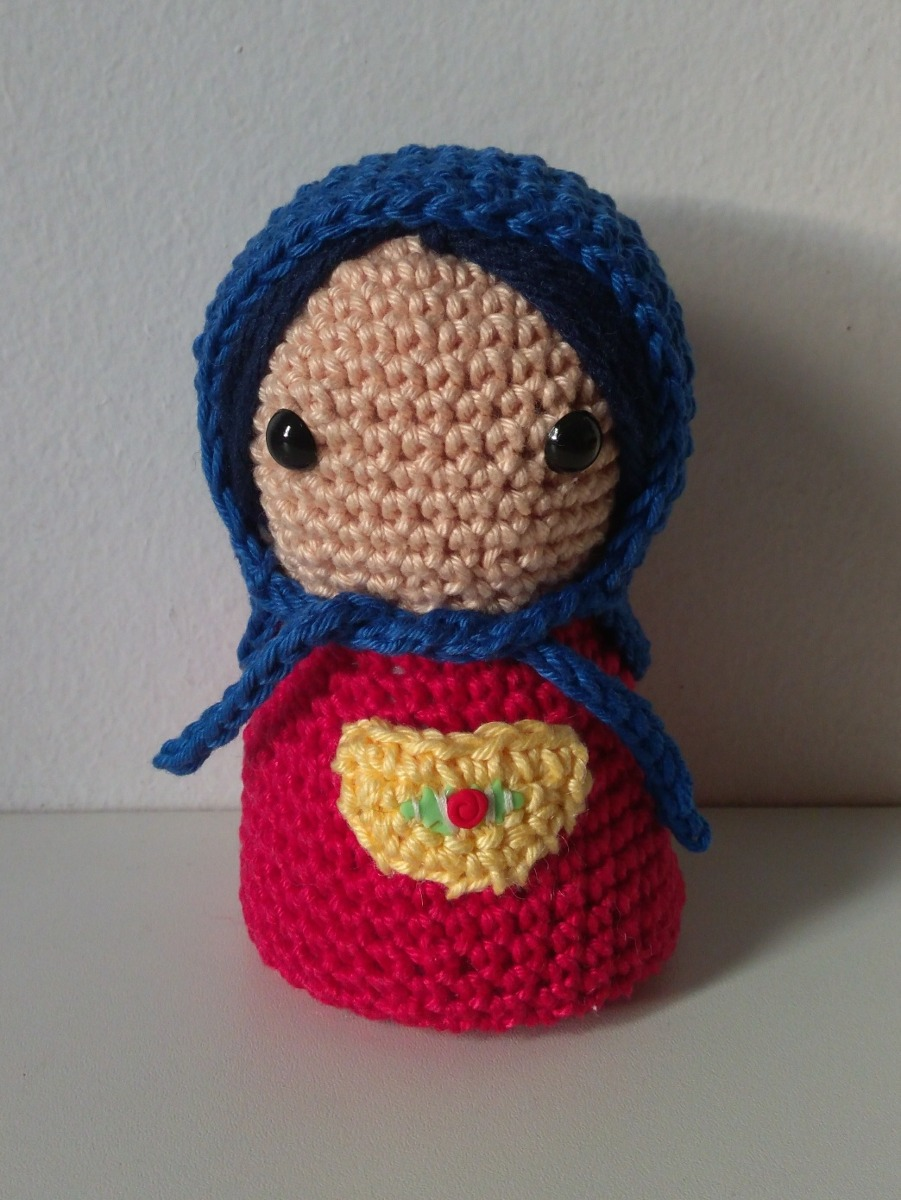 Matryoshka Doll - PDF Crochet Pattern | Matryoshka doll, Crochet ... | 1200x901