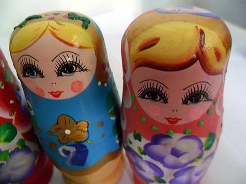 boneca matryoshka russa 5 peças