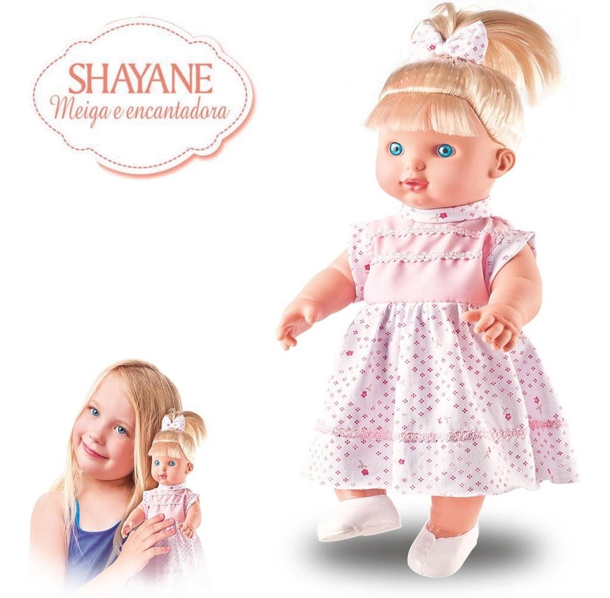 Boneca Meiga Shayane Fala 62 Frases Brinquedos Menina