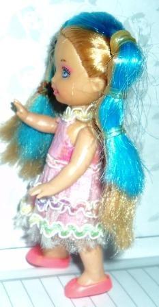 boneca mini bonequinha 11,0 cm importada linda (g04)