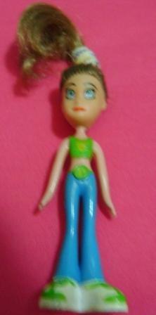 boneca mini bonequinha pampili 13 cm. (g13)