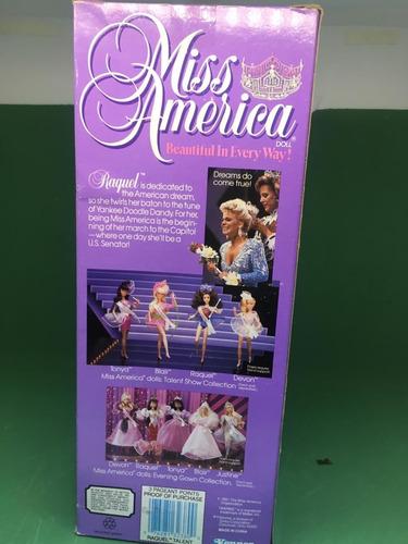 boneca miss américa raquel kenner 1991 talent show