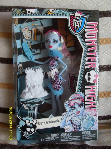 boneca monster high abbey bominable bdf13 - bonellihq i17