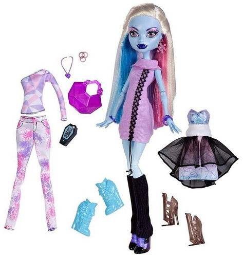 boneca monster high abbey bominable  i heart (love) fashion