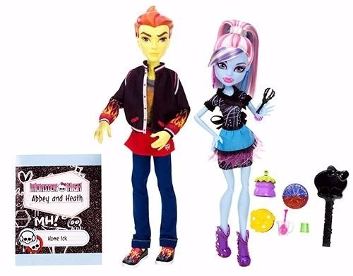 boneca monster high home ick abbey bominable e heath burns