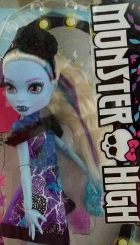 boneca monster high party ghouls abbey bominable nova